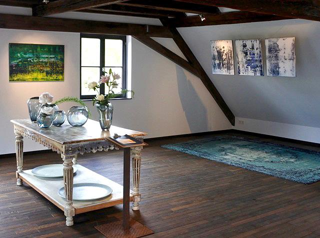 ausstellung im berzelhof andres paintings. Black Bedroom Furniture Sets. Home Design Ideas