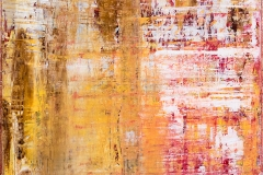 Scratches II | Acryl | 70 x 70 cm | 2014