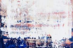 Blue Beige | Acryl | 80 x 80 cm | 2016
