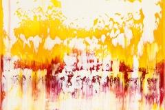 Orange Yellow Red | Acryl | 70 x 70 cm | 2016