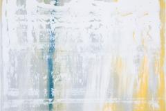 White Grey Yellow | Acryl | 80 x 100 cm | 2016
