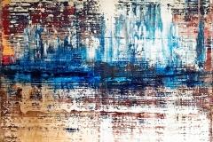 Landscape I | Acryl | 100 x 100 cm | 2017
