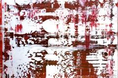 White Red I | Acryl | 60 x 80 cm | 2017