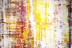 Yellow Red White II | Acryl | 160 x 133 cm | 2017
